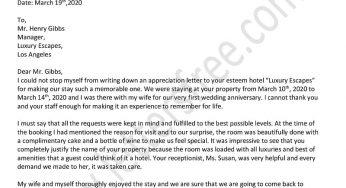 Sample Business Letter Format 1000