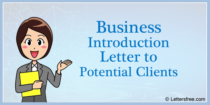 Business Introduction Letter to Potential Clients