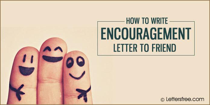 Encouragement Letter to Friend